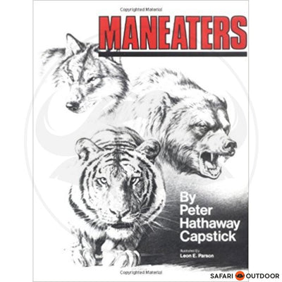 MANEATERS - CAPSTICK (BOOK)