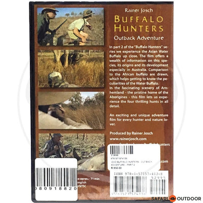 BUFFALO HUNTERS - OUTBACK ADVENTURE - PART 2 (DVD)