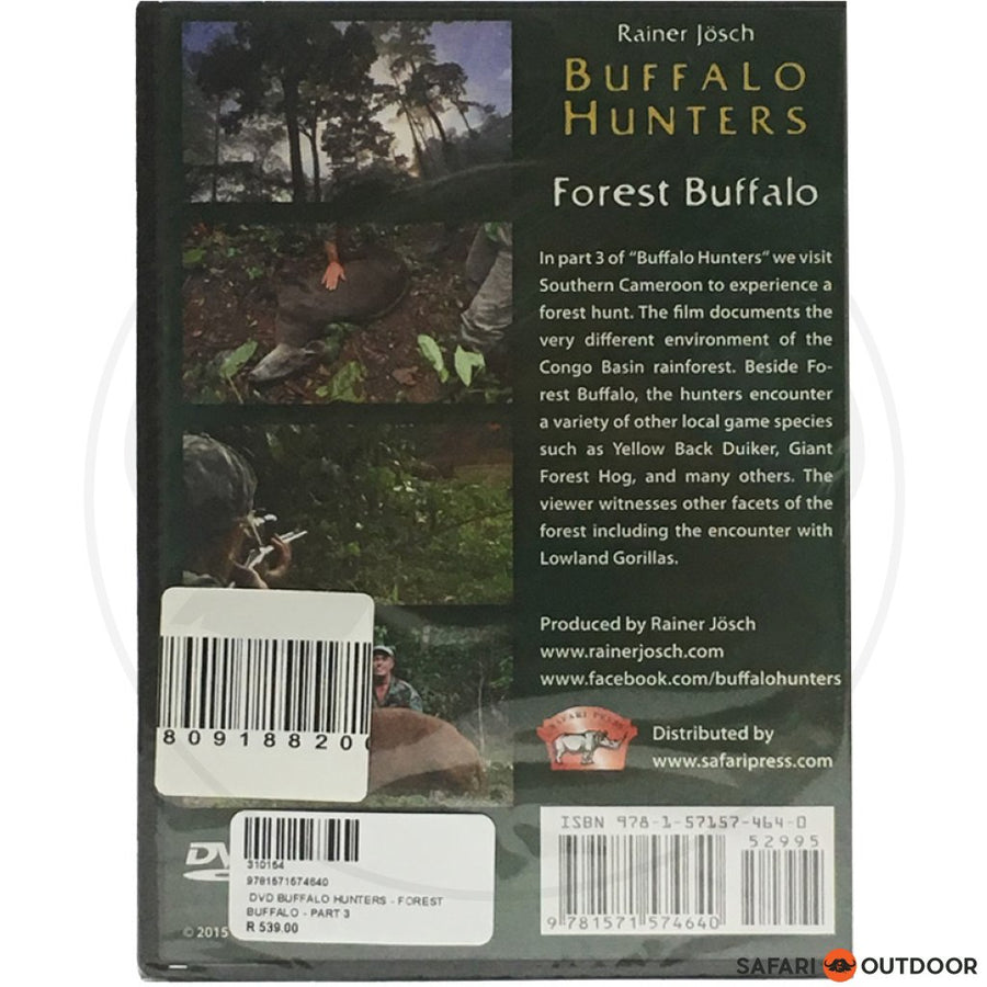 BUFFALO HUNTERS - FOREST BUFFALO - PART 3 (DVD)