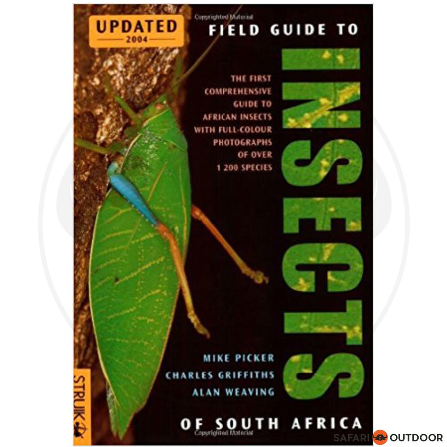 FIELD GUIDE INSECTS OF SA – PICKER (BOOK)