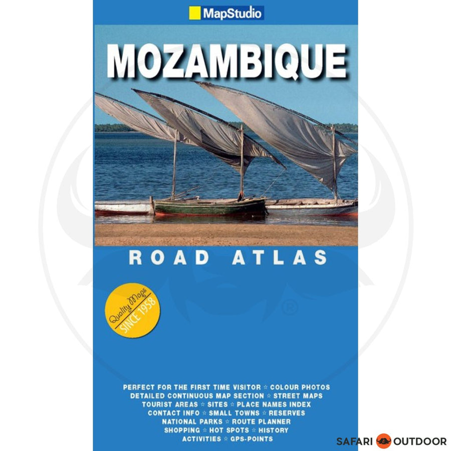 ROAD ATLAS  MOZAMBIQUE - 1st ED (BOOK)