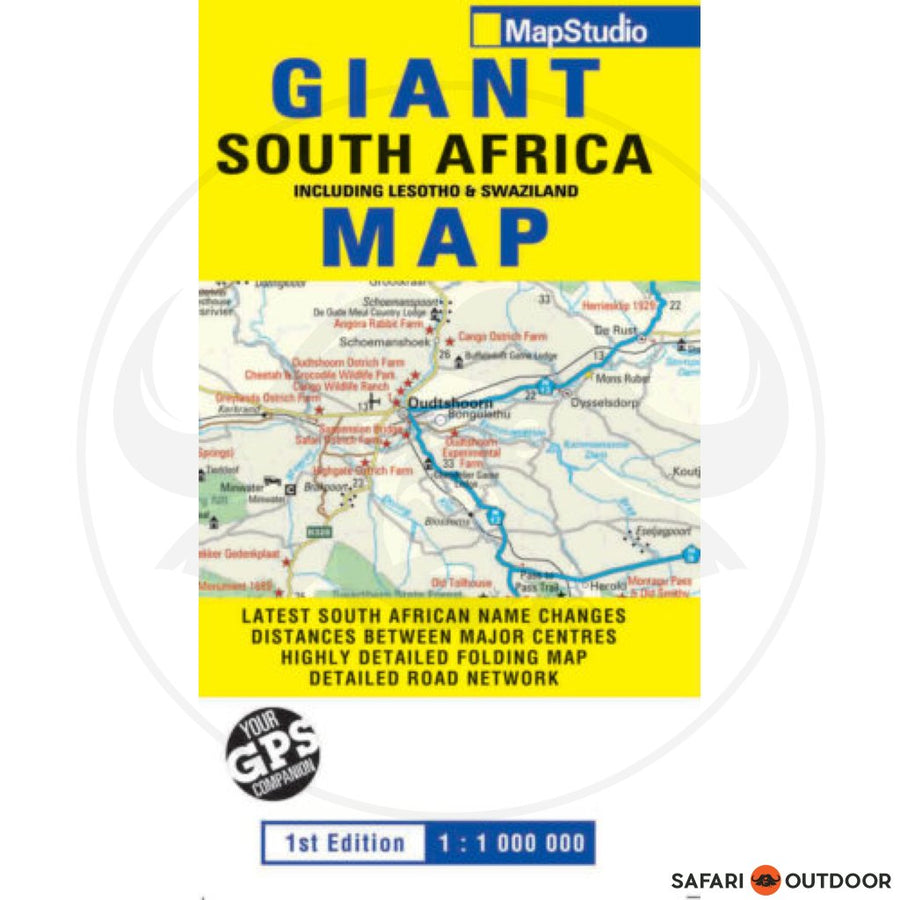 GIANT SOUTH AFRICA ROAD MAP (BOOK)
