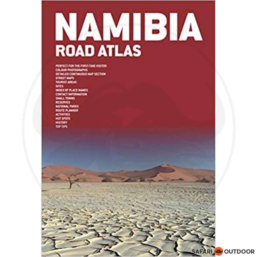 ROAD ATLAS NAMIBIA - 4th ED (BOOK)