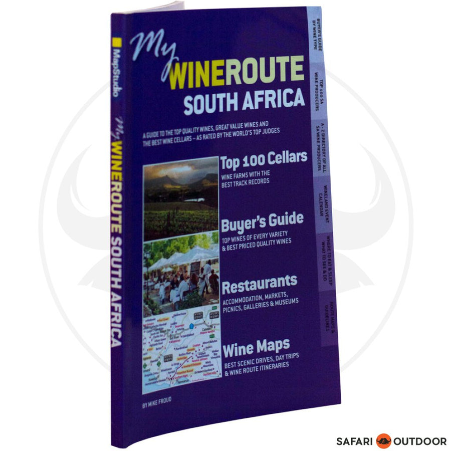 My Wineroute - Estates, Wines, Maps - Mapstudio (BOOK)