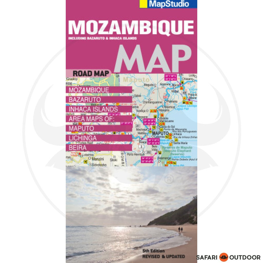MOZAMBIQUE ROAD MAP - 5th ED (BOOK)