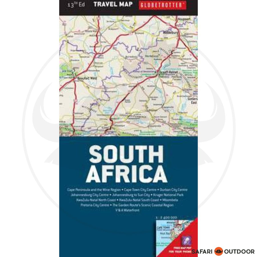 GTM- MAP OF SOUTHERN AFRICA 13TH ED (BOOK)