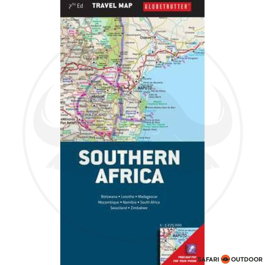 MAP GTM- MAP OF SOUTHERN AFRICA 7TH ED (BOOK)