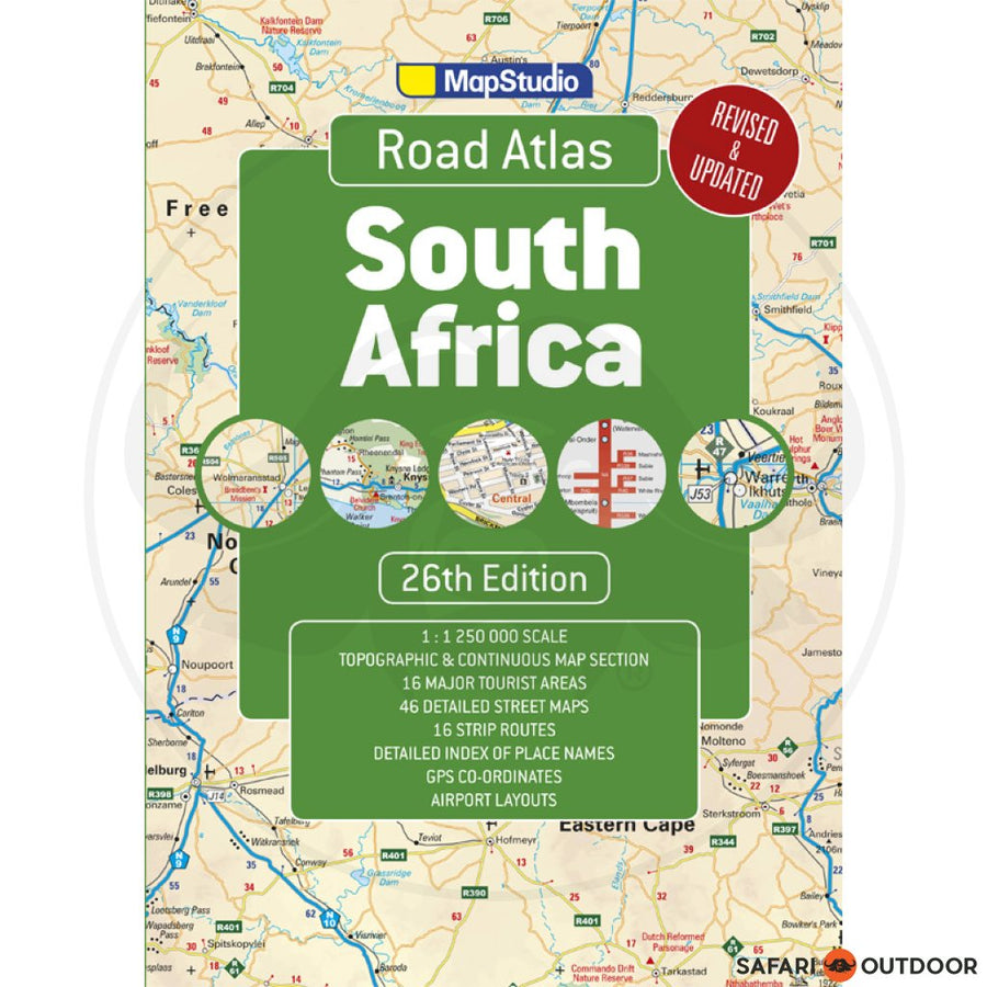 ROAD ATLAS SOUTH AFRICA - 26TH ED (BOOK)