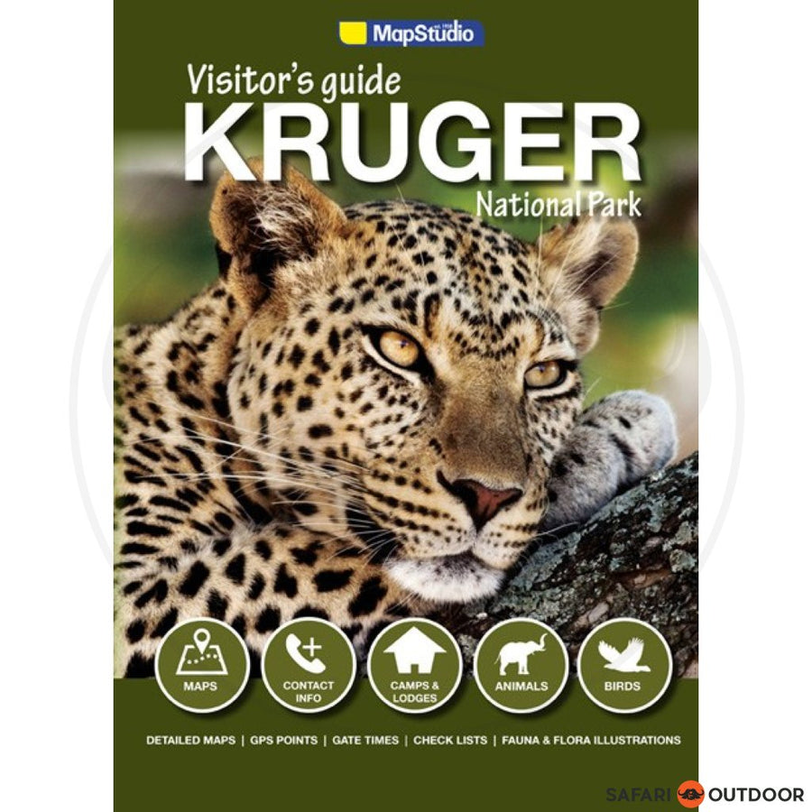 KRUGER NATIONAL PARK VISITORS GUIDE 3RD ED BOOK