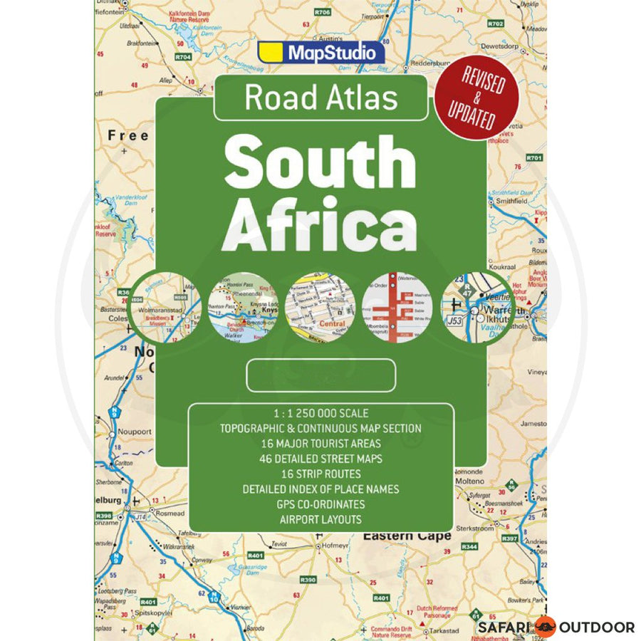 MAP SOUTH AFRICA POCKET ATLAS - 15th ED BOOK