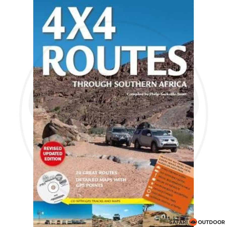 4X4 ROUTES THROUGH SOUTHERN AFRICA - 3RD ED (BOOK)