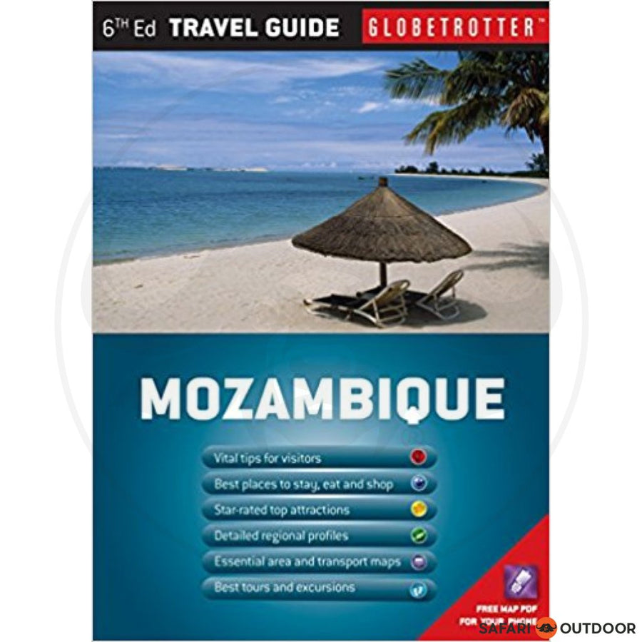 MOZAMBIQUE TRAVEL PACK - GLOBETROTTER - MIKE SLATER (BOOK)