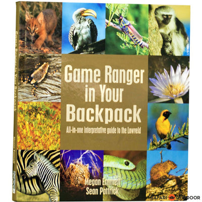 BOOK GAME RANGER IN YOUR BACKPACK - SAFARI OUTDOOR