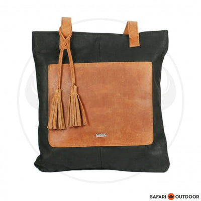 Antelo Bag Jenna Delux Shopper - Diesel Brown