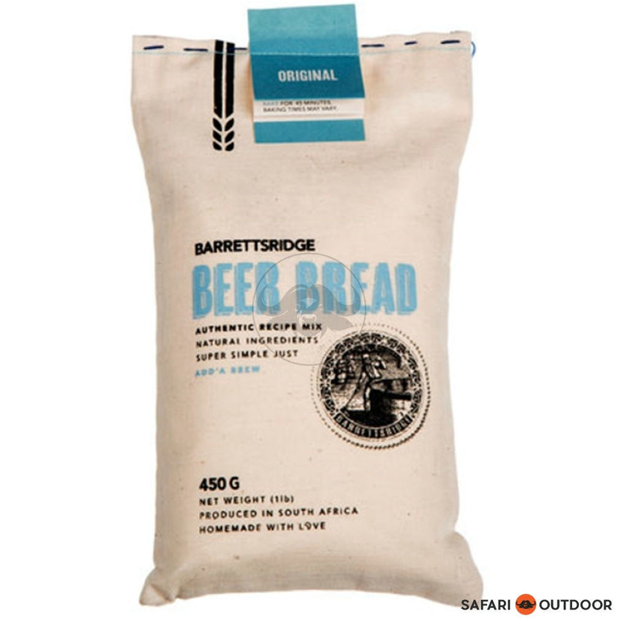 BARRETS RIDGE ORIGINAL BEER BREAD 450G - SAFARI OUTDOOR