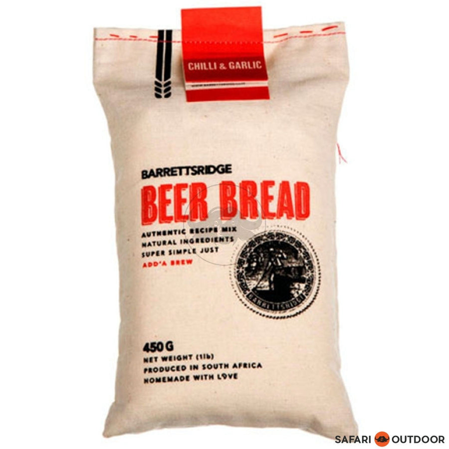 BARRETS RIDGE CHILLI AND GARLIC BEER BREAD 450G - SAFARI OUTDOOR