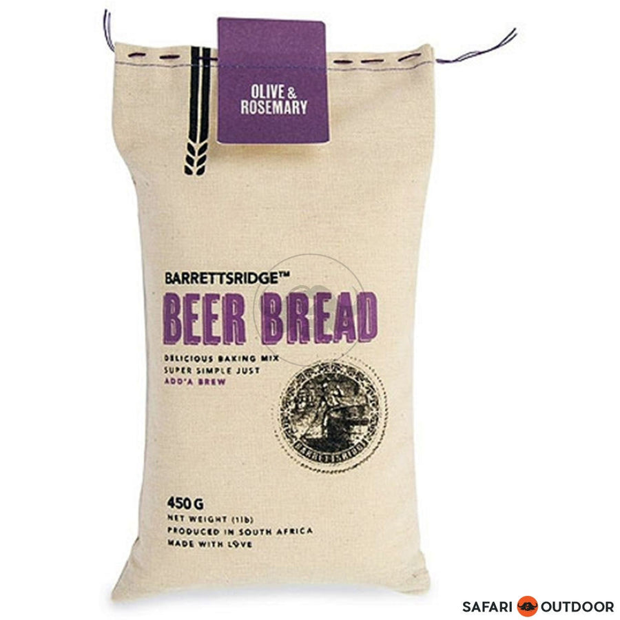 BARRETS RIDGE OLIVE AND ROSEMARY BEER BREAD 450G - SAFARI OUTDOOR