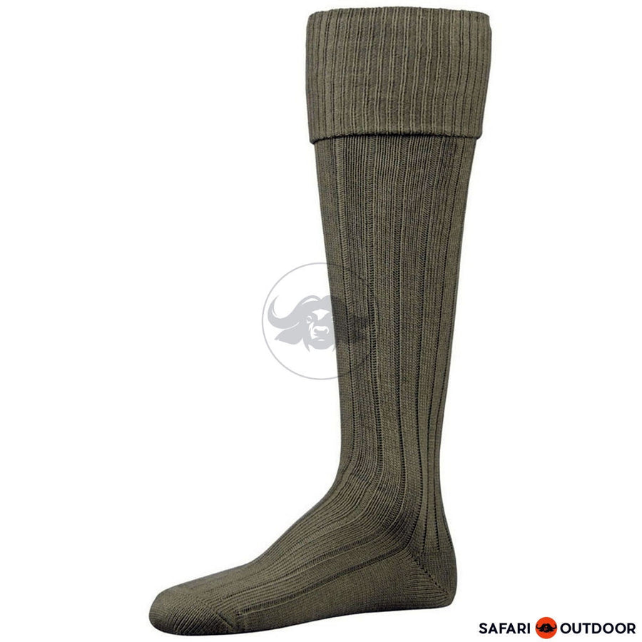 SOCKS FALKE SAFARI GREEN PEPPER OLIVE - SAFARI OUTDOOR