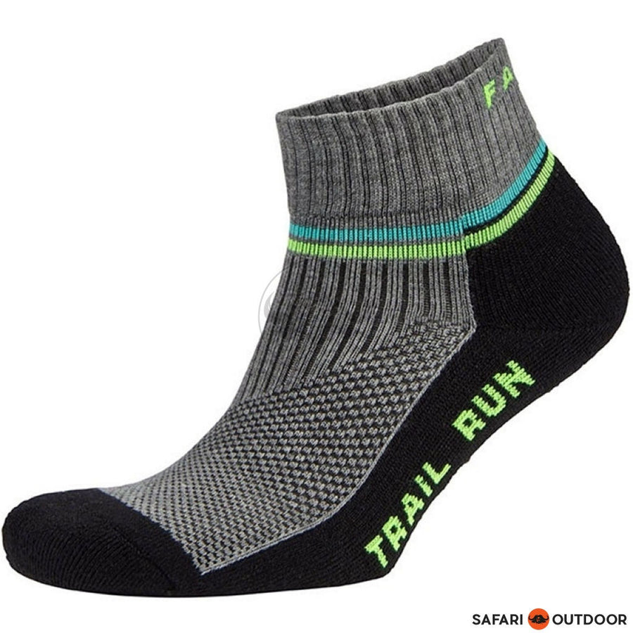 SOCKS FALKE TRAIL RUN BLACK-GRY - SAFARI OUTDOOR