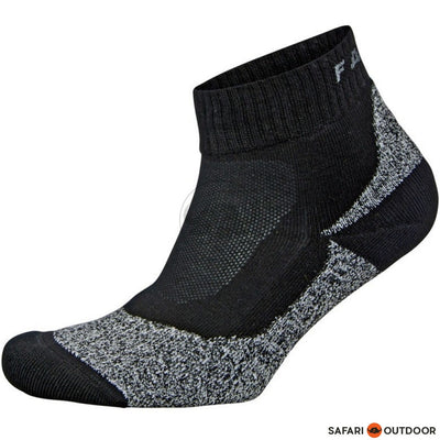 SOCKS FALKE AH1 QUARTER BLACK - SAFARI OUTDOOR