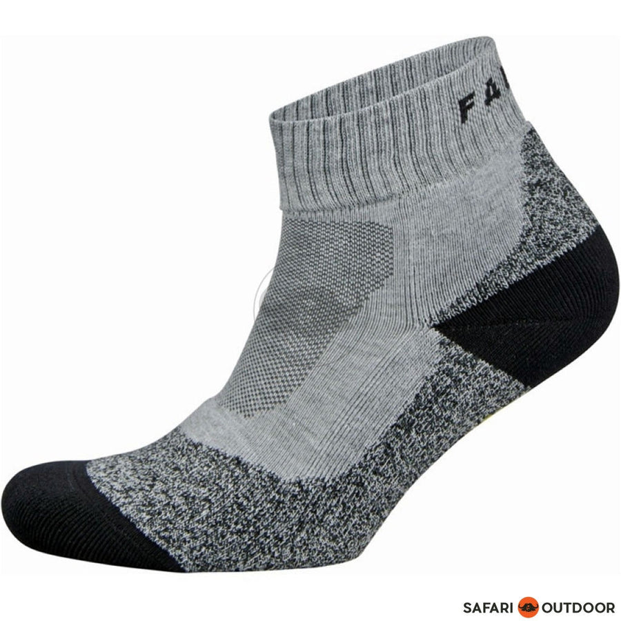 SOCKS FALKE AH1 QUARTER GREY - SAFARI OUTDOOR