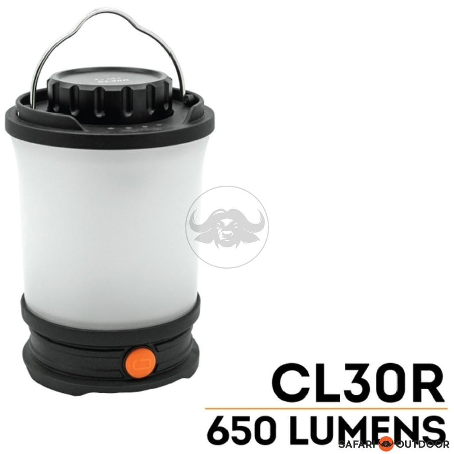 FENIX LANTERN CL30R 650 LUMEN (BATTERY + USB) - SAFARI OUTDOOR