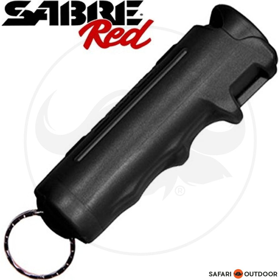 SABRE PEPPER SPRAY GEL HARDCASE .54 OZ BLACK
