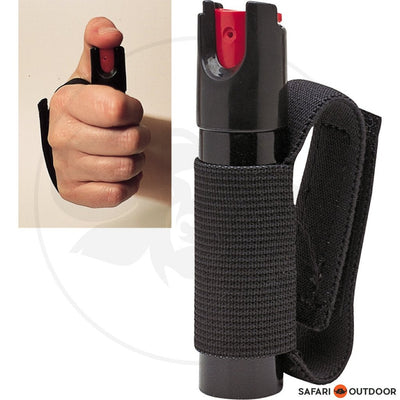 SABRE PEPPER SPRAY JOGGER UNIT .54 OZ BLACK - SAFARI OUTDOOR