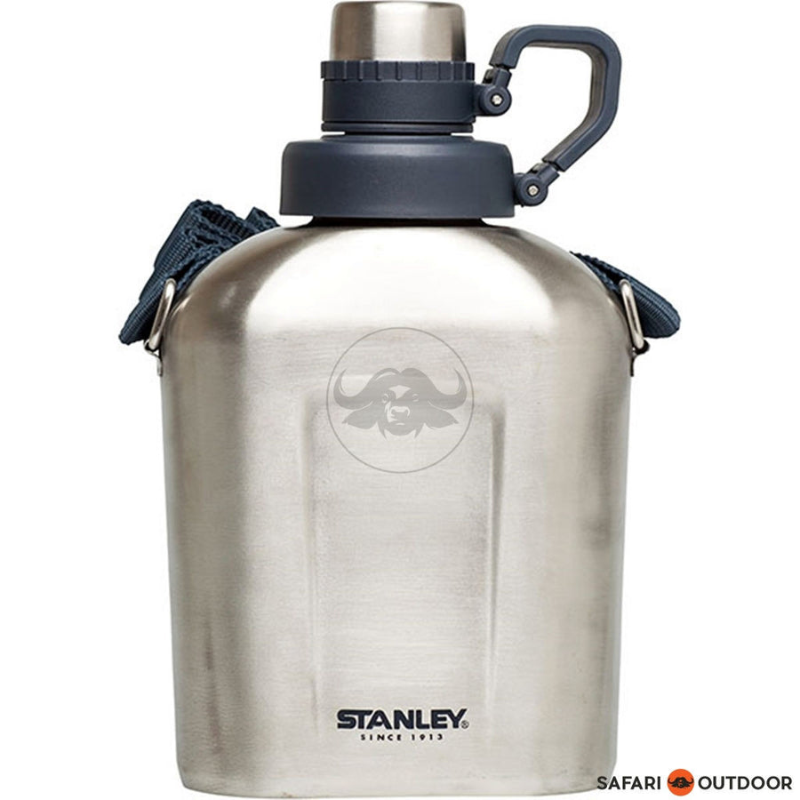 STANLEY ADVENTURE CANTEEN 1,1L STAINLESS STEEL - SAFARI OUTDOOR