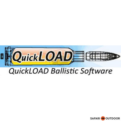 QUICKLOAD BALLISTIC SOFTWARE VERSION 3.9 - SAFARI OUTDOOR