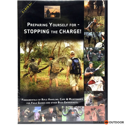 PREPARING YOURSELF FOR STOPPING THE CHARGE DVD - SAFARI OUTDOOR