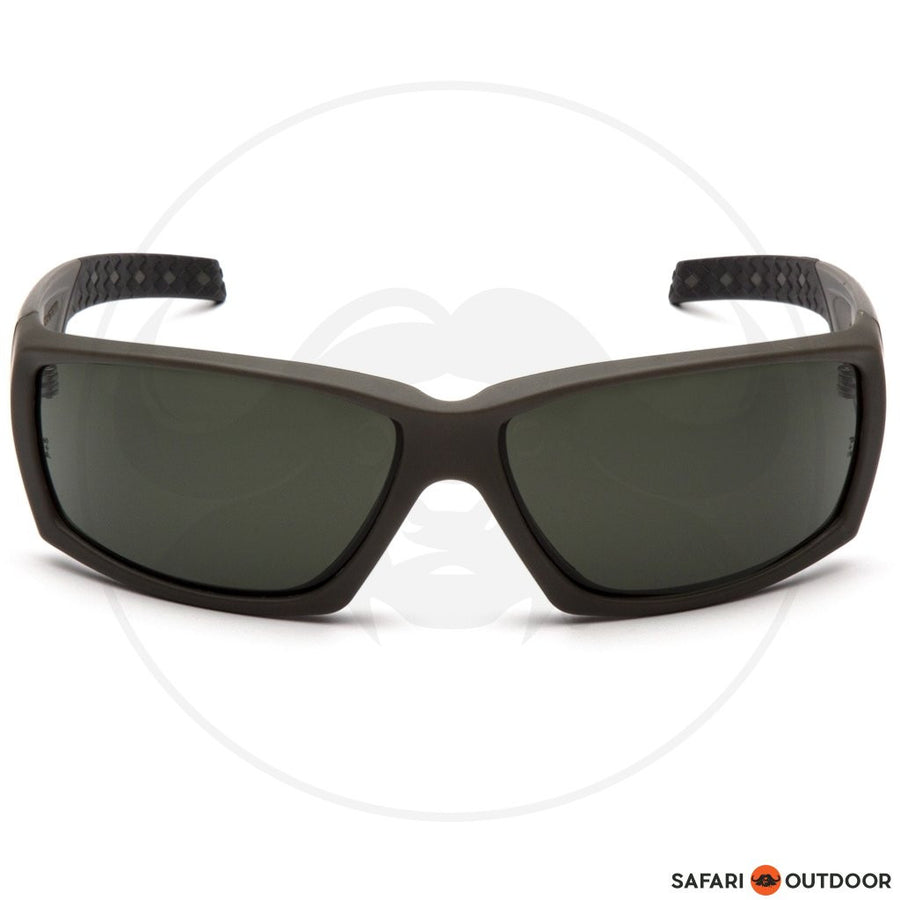 GLASSES VENTGEAR TACT OVERWATCH GREEN FRAME/SMOKE A - SAFARI OUTDOOR