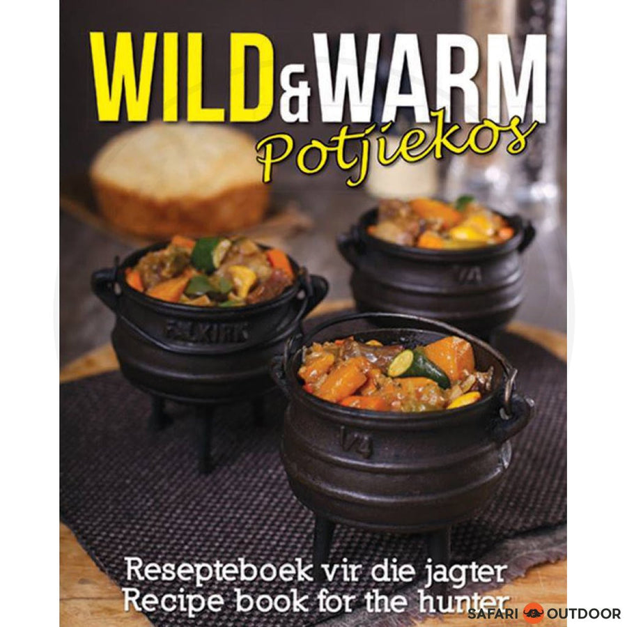 WILD & WARM POTJIEKOS BOOK - SAFARI OUTDOOR