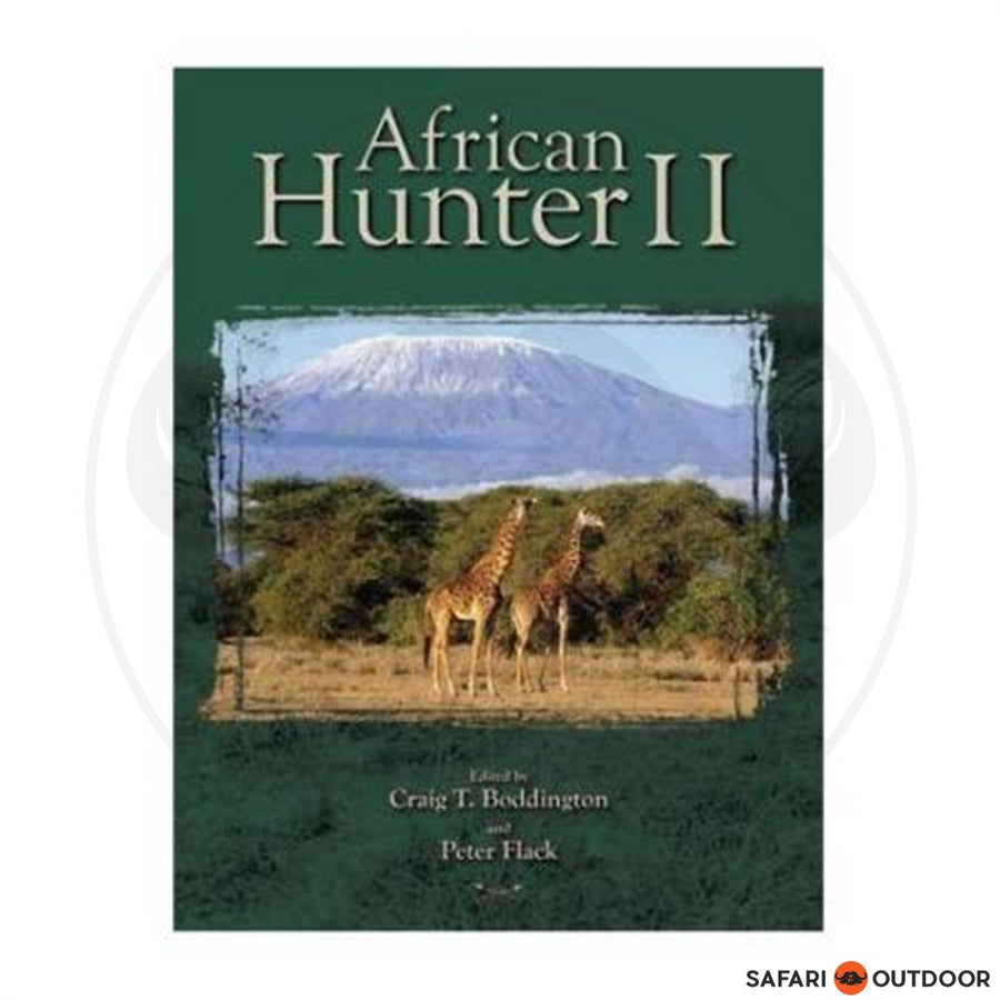 AFRICAN HUNTER 2 - BODDINGTON AND FLACK (BOOK)