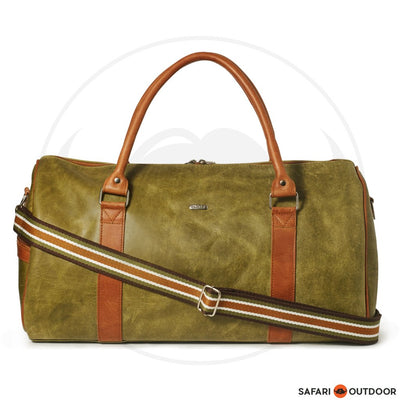 ANTELO WILLIAM DUFFLE BAG- OLIVE /TOFFEE DIESEL