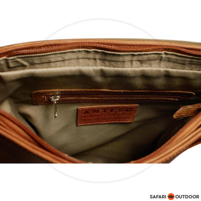 ANTELO HARVEY UNISEX MESSENGER BAG - TOFFE