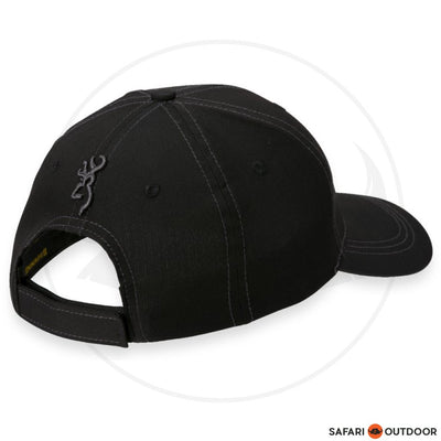 BROWNING CAP MEN STACK -LITE BLACK