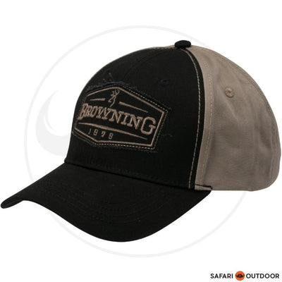 BROWNING CAP MEN ATLUS -BLACK