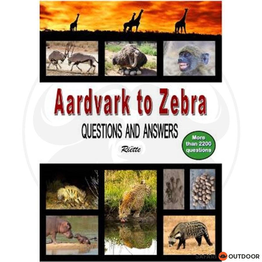 AARDVARK TO ZEBRA - RIETTE (BOOK)