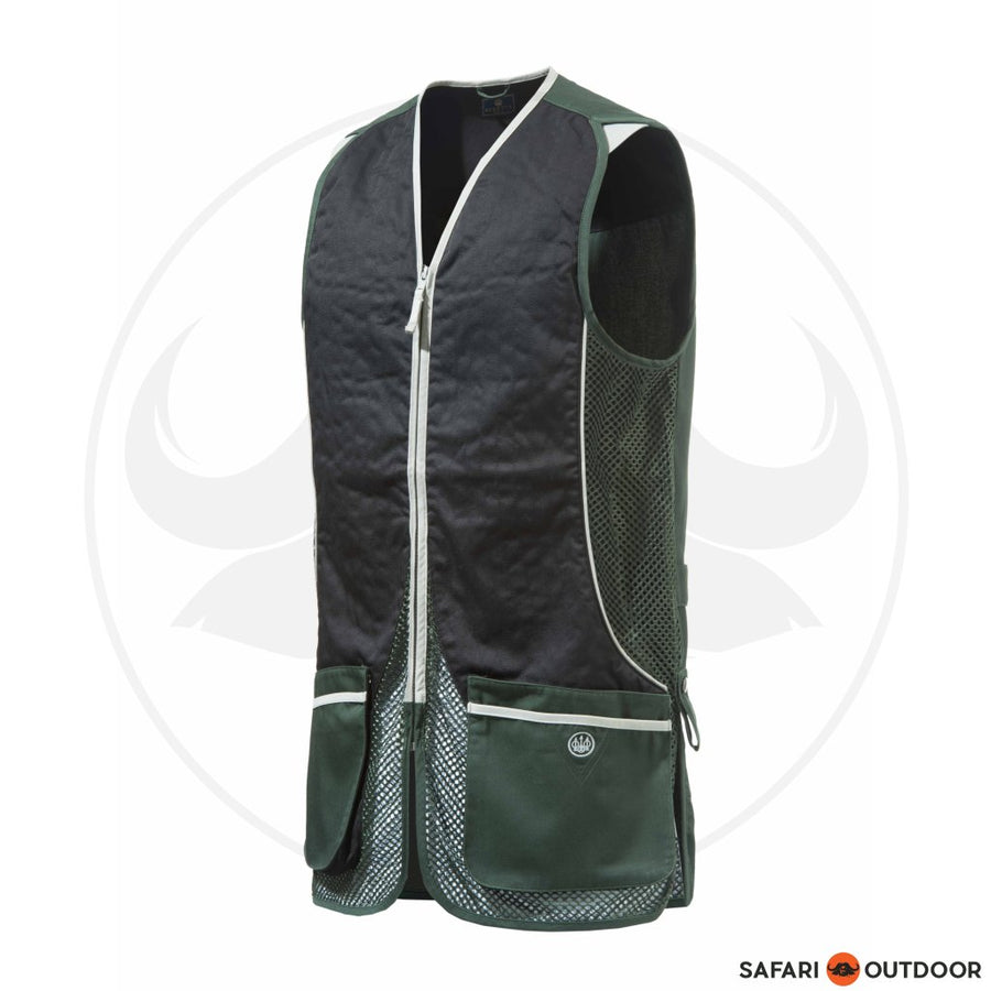 BERETTA MEN SILVER PIGEON VEST - GREENN/BLACK
