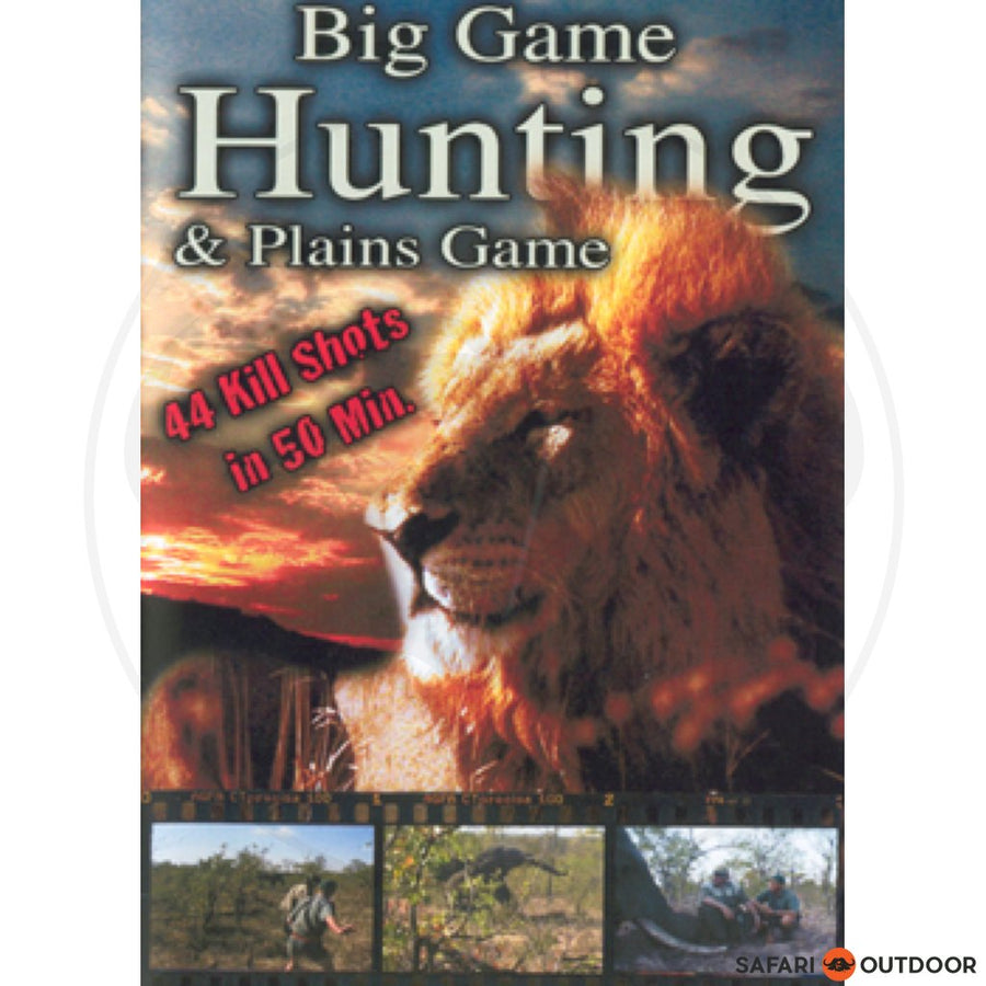 BIG GAME HUNTING & PLAINS GAME DVD