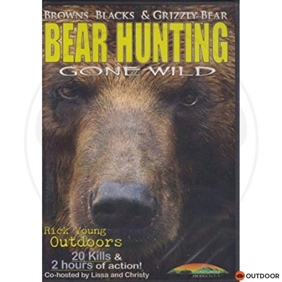 BEAR HUNTING GONE WILD (DVD)