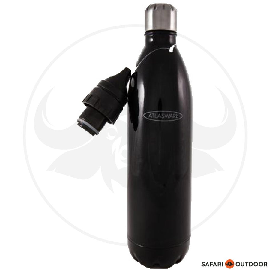 ATLASWARE BLACK HAMMER FLASK -500ML
