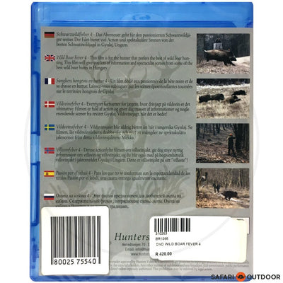 WILD BOAR FEVER 4 (DVD)