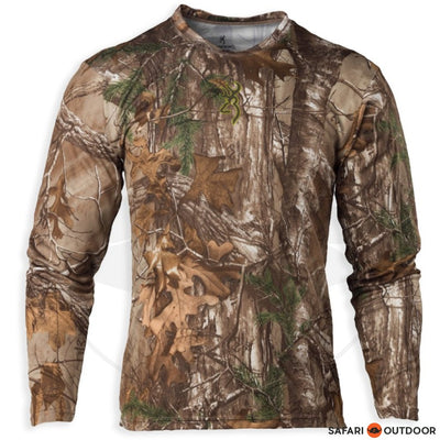BROWNING LONG SLEEVE SHIRT MEN VAPOR MAX REALTREE XTRA