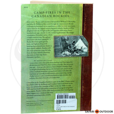 CAMP-FIRES IN THE CANADIAN ROCKIES (BOOK)