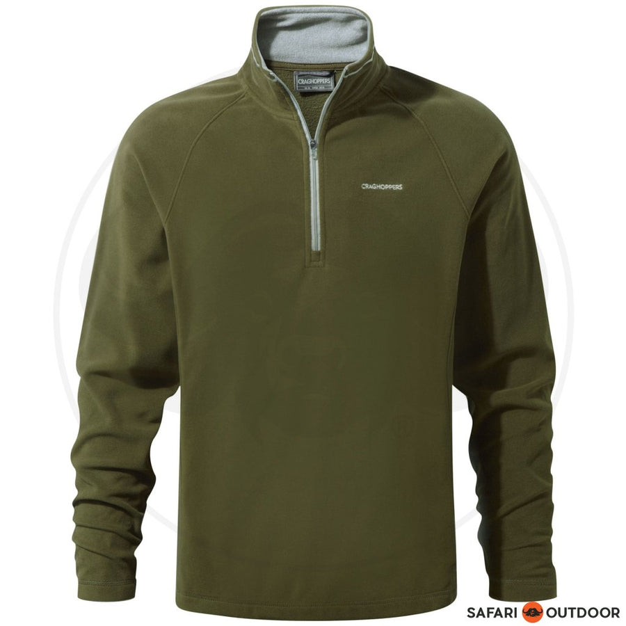 CRAGHOPPERS JACKET MEN FLEECE SELBY - OLIVE