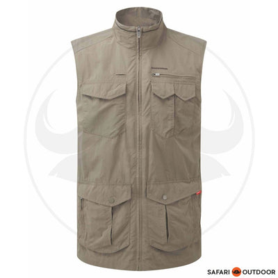 CRAGHOPPERS VEST MEN NOSILIFE ADVENTURE - GREY