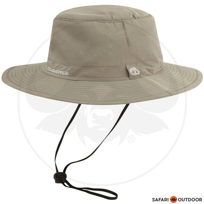 CRAGHOPPERS HAT NOSILIFE OUTBACK - KHAKI