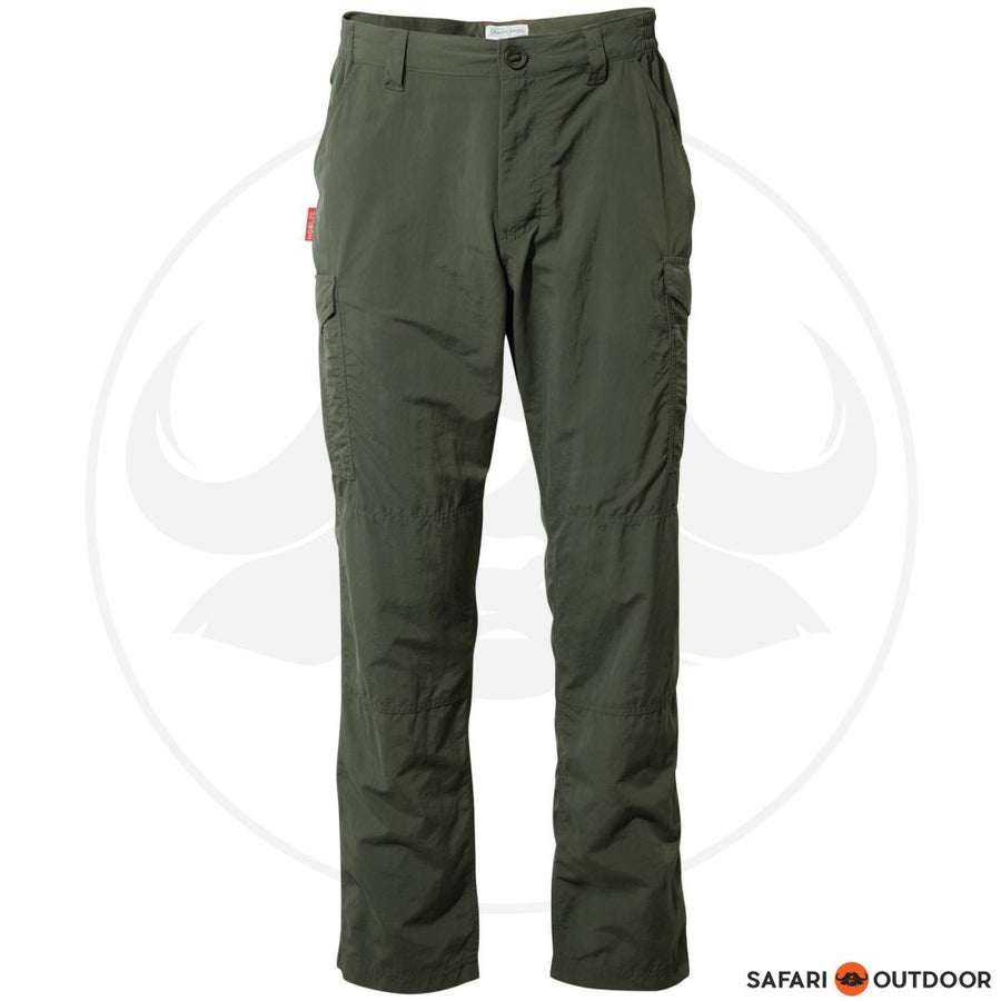 CRAGHOPPERS PANTS MEN NOSILIFE CARGO - KHAKI